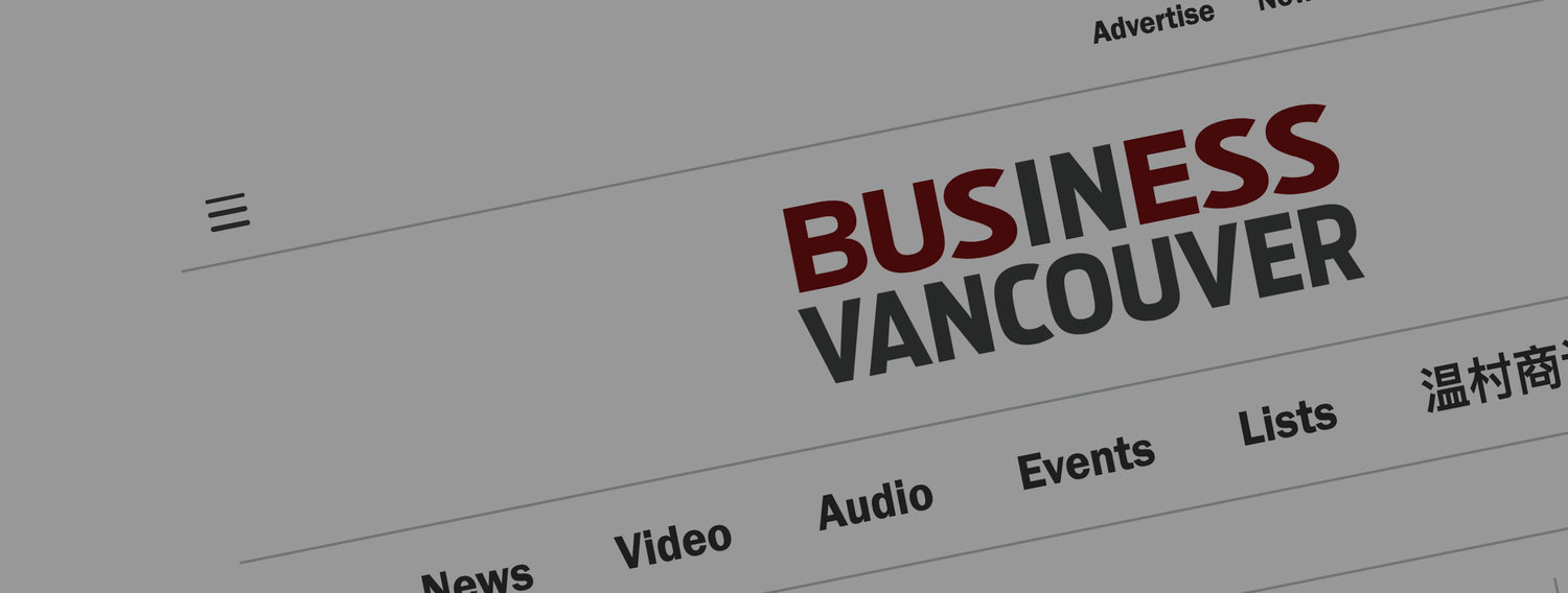 Danielle Allan featured in Business in Vancouver